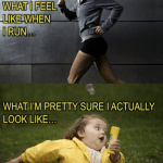 What running has done for me.