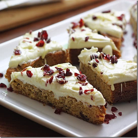 cranberry bliss bars 9 thumb 5 Out Of This World Dessert Recipes With Cream Cheese