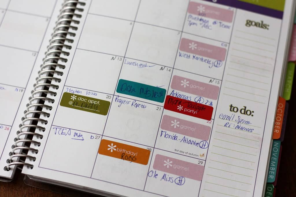 Calendar Planner Erin Condren : Erin condren planner months later katrina runs for food