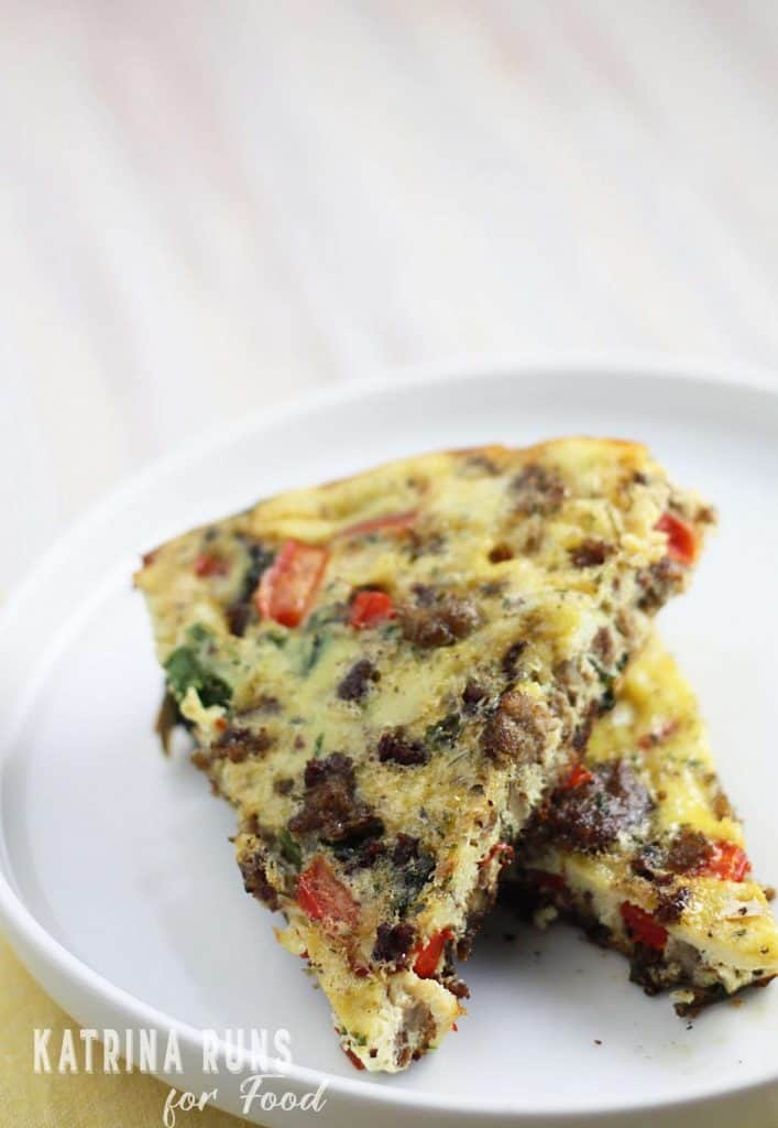 Whole30 Breakfast casserole is a perfect addition to the morning rotation.