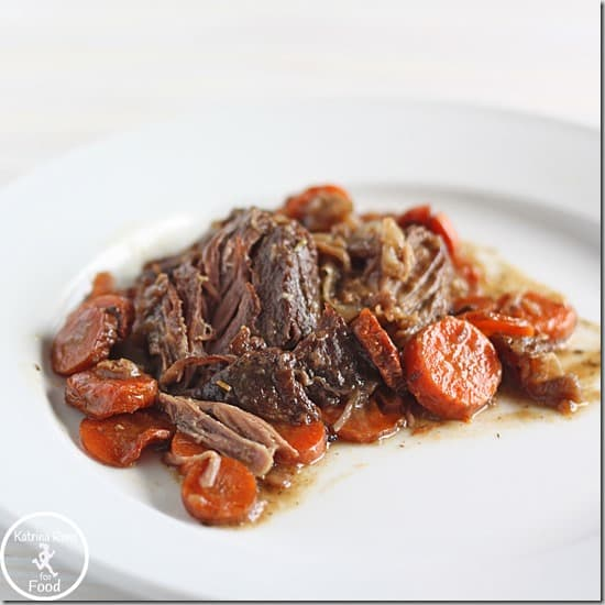pot roast roast beef roast beef with porcini coffee sauce food ...