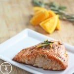 Orange Salmon with Rosemary