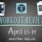 ,Weekly Review-CrossFit, Run