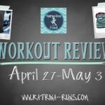 Weekly Review-CrossFit, Run