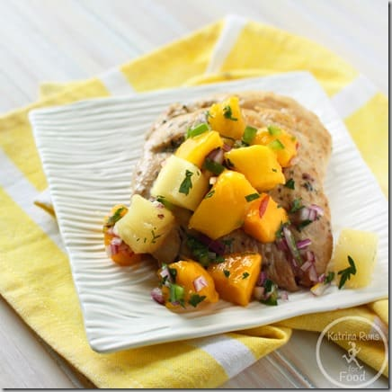 chicken mango salsa~