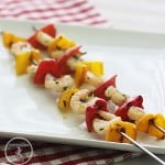 Shrimp Pesto Kebabs