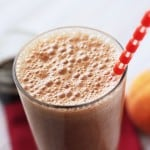 Tart Cherry Peach Pie Smoothie