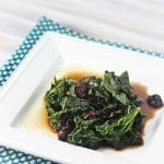 Kale with Balsamic Butter