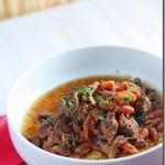Slow cooker Paleo Mexican Beef Stew