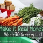 Whole30 Shopping List