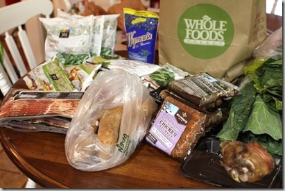 whole 30 grocery