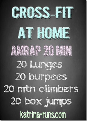 crossfit at home feb 18