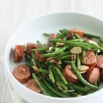 Sausage and Green Bean Stir Fry