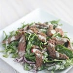 Simple Steak Salad with Paleo Herb Dressing