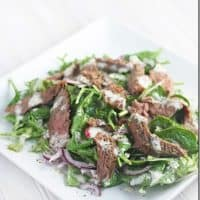Simple Steak Salad