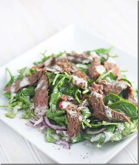 final steak salad ed.