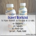 Travel Workout with About Time