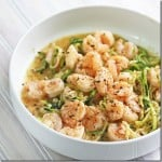 Chipotle Lime Shrimp and Zoodles