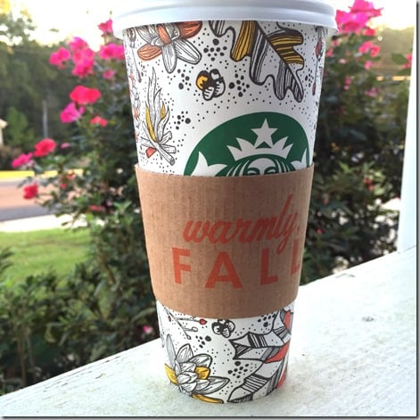 starbucks fall
