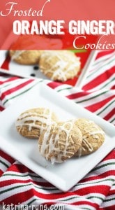 frosted ginger cookies pinterest