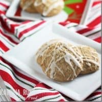 Frosted Ginger Cookies