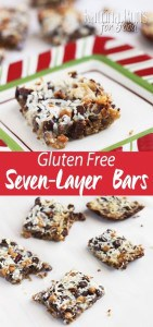 Gluten Free Seven Layer Bars-so EASY!