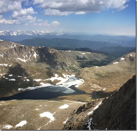 Mt. Evans summit lake