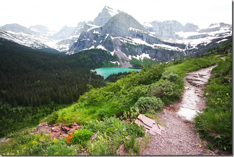 grinnell hike 3~