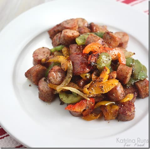 sausage and peppers ~