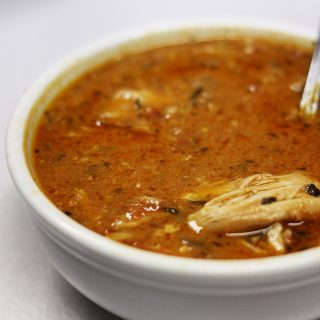 Chipotle chicken soup has a lot of flavor and is easy to prepare.