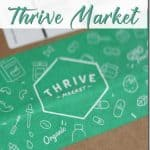 A review of Thrive Market organic online store