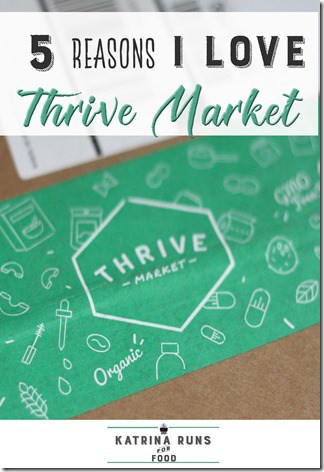 Thrive market reasons