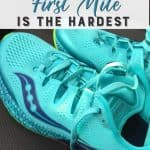 Why the first mile is the hardest