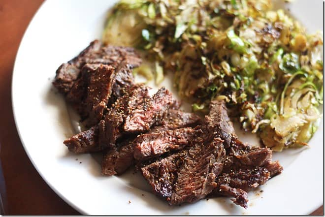 skirt steak brussels