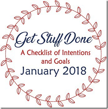 2018 Get Stuff Done January