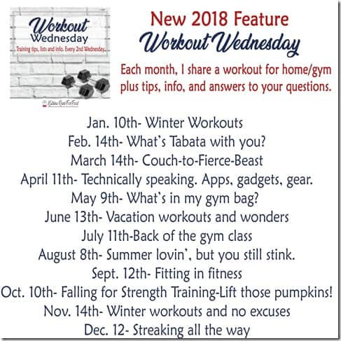 Workout Wednesday yearly plan