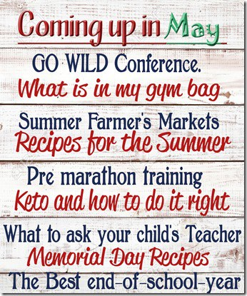 Coming up May