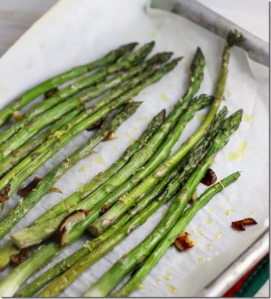 chile lemon asparagus