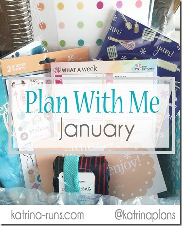 Plan with me January