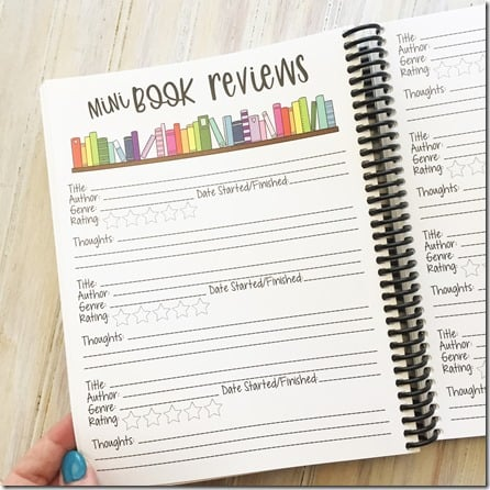 peanut butter taco book planner 4