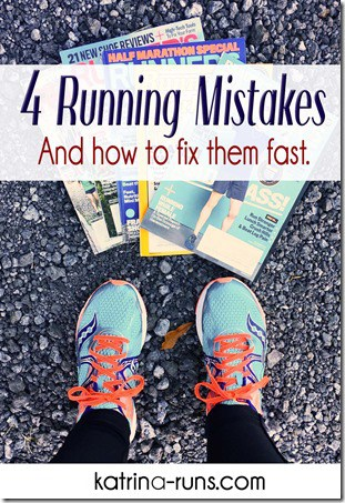 4 common running mistakes