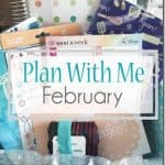 Plan with me Feb