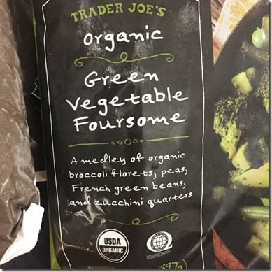 Trader joes four greens