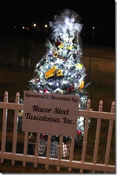 Tuscaloosa Tinsel Trail Nucor