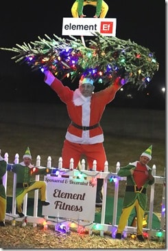 Tuscaloosa Tinsel Trail elemental fitness